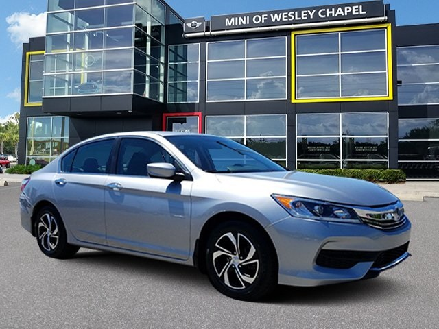 Pre Owned 2016 Honda Accord Fwd Lx In Wesley Chapel A100440 Mini Of