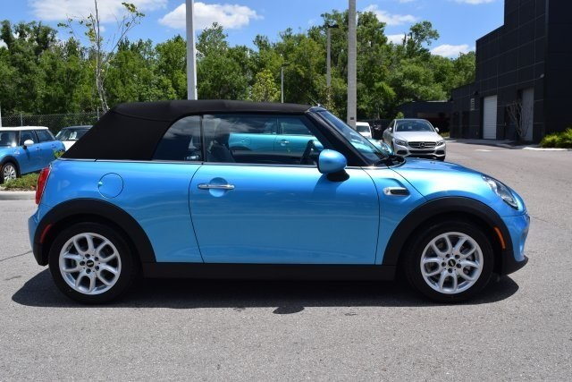 Pre Owned 2017 Mini Convertible Cooper 2d Convertible In