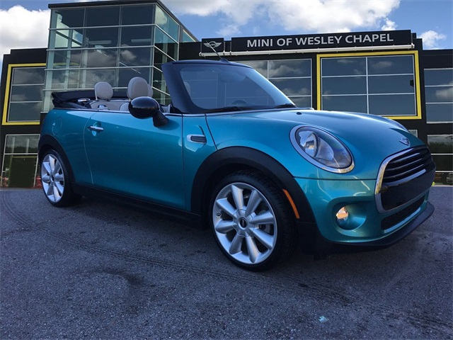 Certified Pre-Owned 2017 MINI Cooper Convertible Base