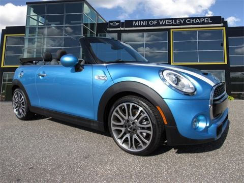Certified Pre-Owned 2017 MINI Cooper S Convertible
