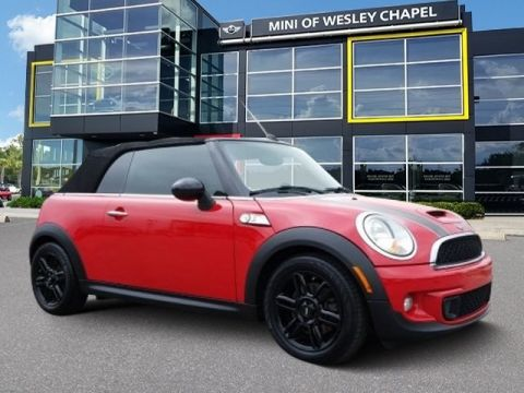 Pre-Owned 2014 MINI Convertible Cooper S